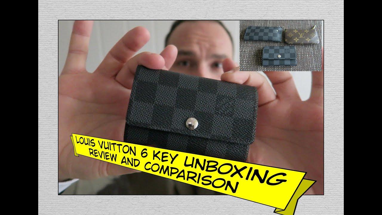 abc98b6ab29 LOUIS VUITTON 6 Key Holder Unboxing