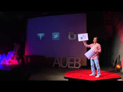 Social media -- quality over quantity | Dimitris Kanellis | TEDxAUEB
