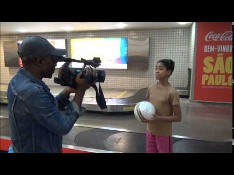 Zuriel Arrives in Brazil As Special Ambassador - Girls Education