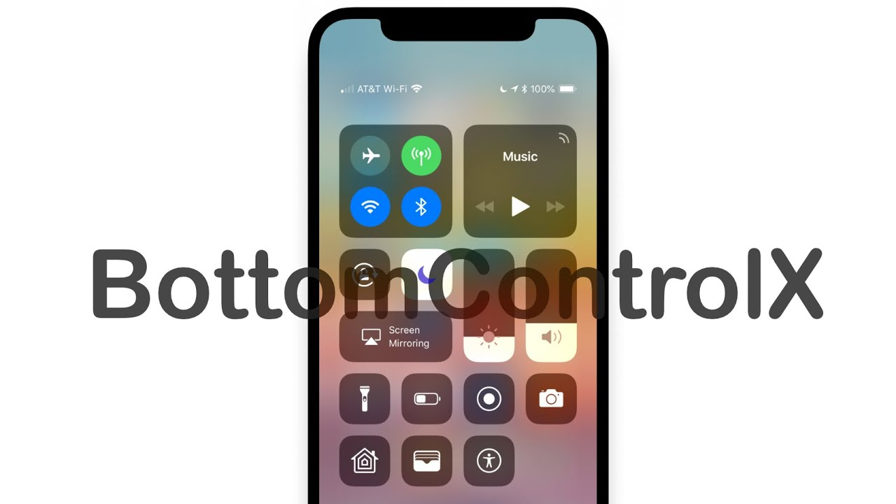 BottomControlX - Control Center Tweak - Видео
