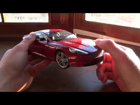 Review of 1/18 Aston Martin DB9 by Welly