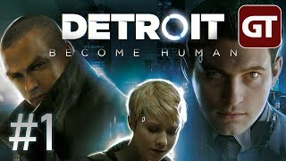 Thumbnail für Detroit: Become Human - Gameplay German #1 - Let's Play Detroit: Become Human PS4 Pro