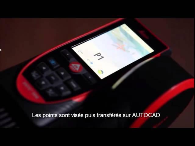 Leica DISTO S910 - Affichage direct dans Autocad