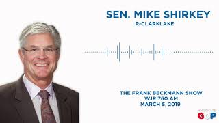 Sen. Shirkey speaks with Frank Beckmann about Gov. Whitmer's budget