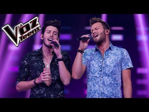 Gusi y Sebastián Yatra cantan 'Traicionera' y 'Eres' | La Voz Teens Colombia 2016