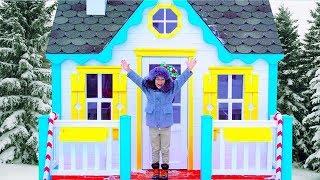 سينيا تشتري منزلا جديدا للأطفال.