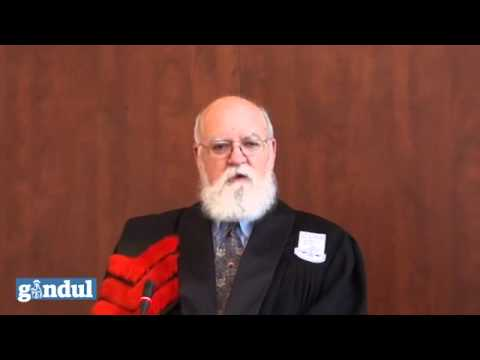 Daniel Dennett's speech at the University of Bucharest, Romania - Doctor Honoris Causa part 1