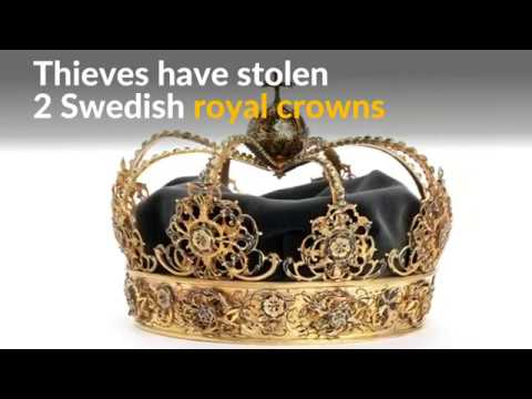 A royal heist: Thieves make off with Swedish crowns in motorboat