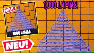 1000 LAMAS, ABER nur 1 RICHTIGES!