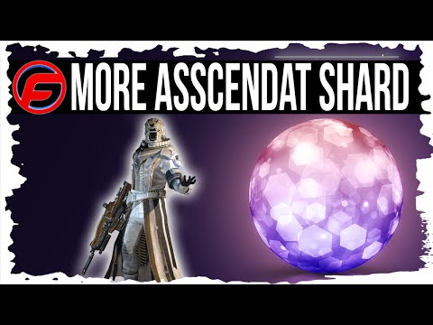 Destiny HOW TO GET MORE ASCENDANT SHARDS FAST and EASY ASCENDANT SHARDS FARMING Leveling Up