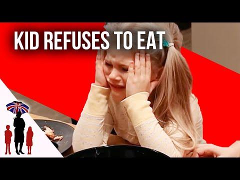 Defiant Kid Refuses To Eat Dinner - Supernanny US