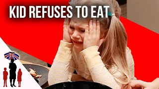 Defiant Kid Refuses To Eat Dinner - Supernanny US
