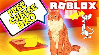 Trying To Catch Rodents In Farm World Roblox (Wild Animals Games)