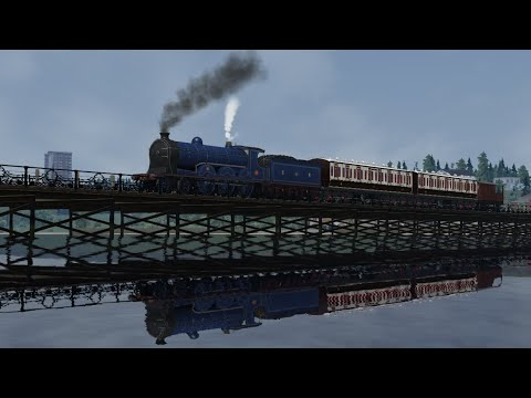 Train Simulator 2020 - Caledonian Railway 903 'Cardean' Class - The Silly Pier Run