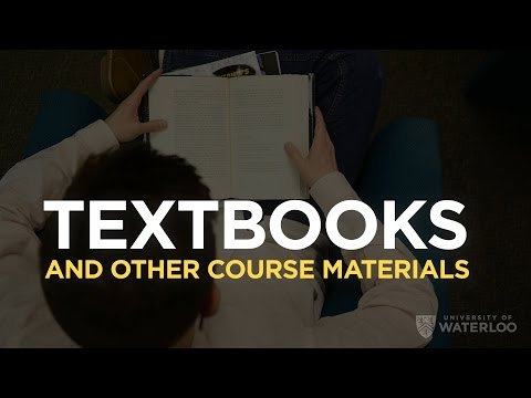 Textbooks And Other Course Materials