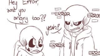 vuclip Error Sans Angry ( Undertale Comic Dub)