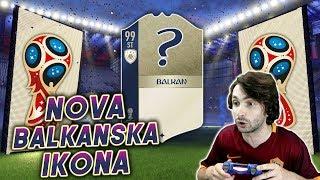 NOVA IKONA U WORLD CUP PACKU!! Balkanske Ikone #15 FIFA 18