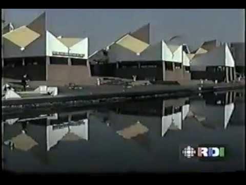 Visite du pavillon du Congo à Expo 67