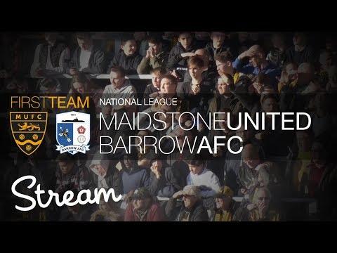 Maidstone United Vs Barrow (17/02/18)