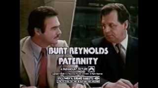 Burt Reynolds in Paternity 1981 TV trailer
