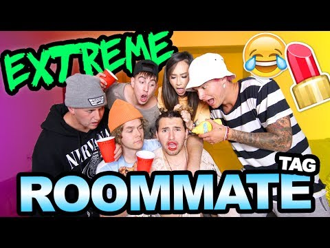 EXTREME ROOMMATE TAG!!
