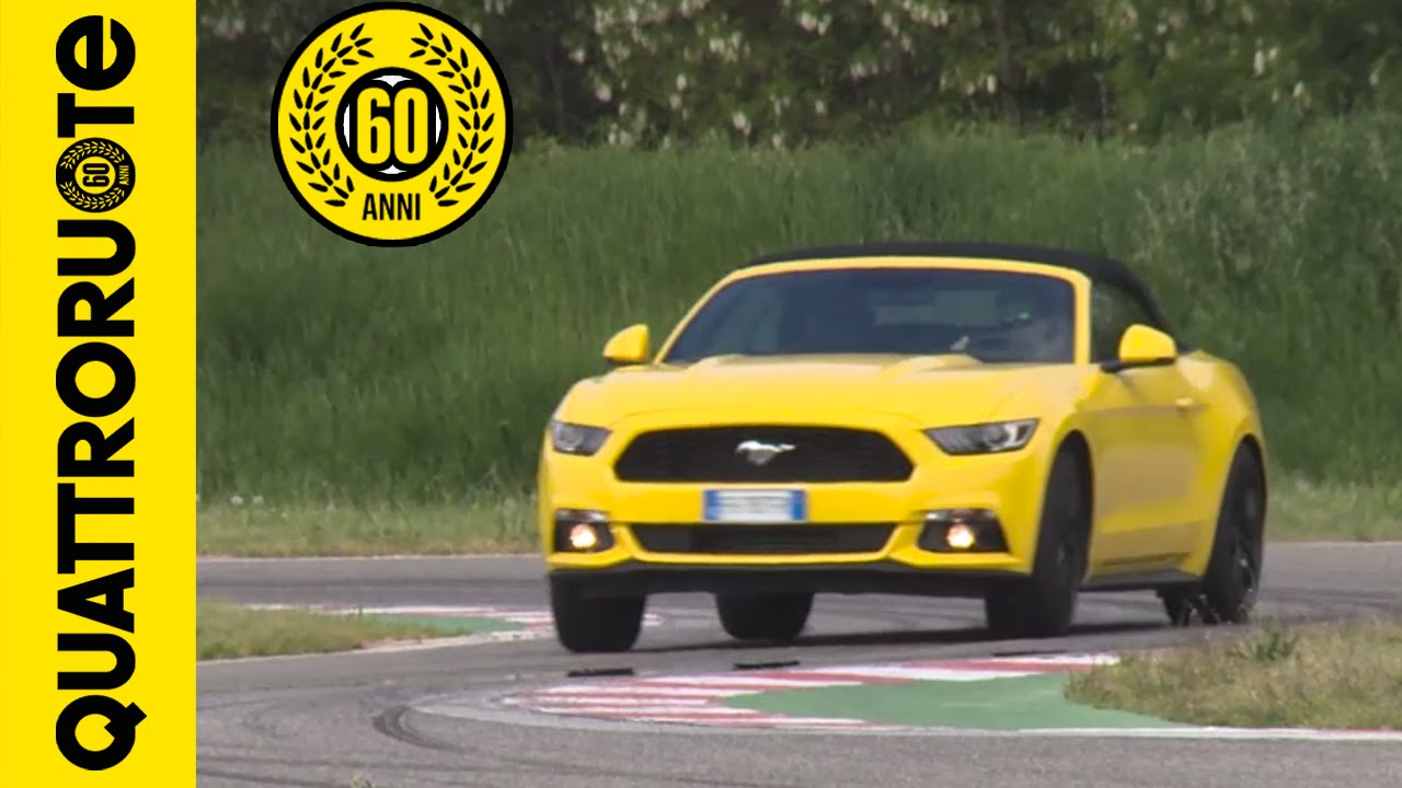 Ford mustang ecoboost 2016 10 cose da sapere top drive