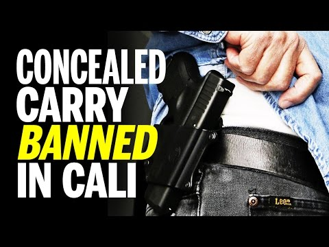 California Court of Appeals Says Concealed Carry Not Protected Under 2nd Amendment (REACTION)