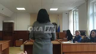 Маргарита Грачева впервые дала волю чувствам на суде