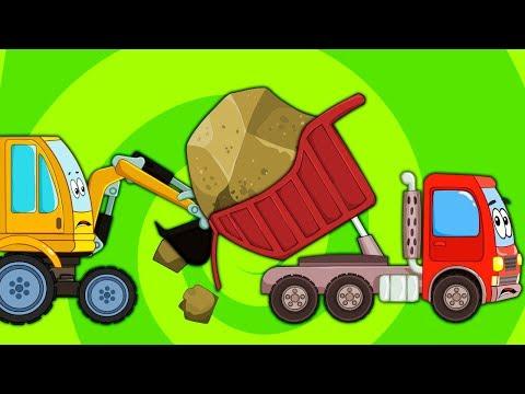 Мультфильм про трактора и рабочие машины смотреть все серии подряд