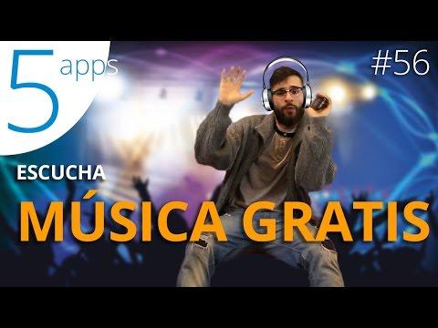 Aplicaciones para escuchar música gratis