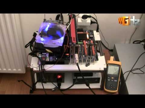 Gigabyte X58A-OC + Intel Core i7-990X @ 6.18GHz - LN2 Overclocking