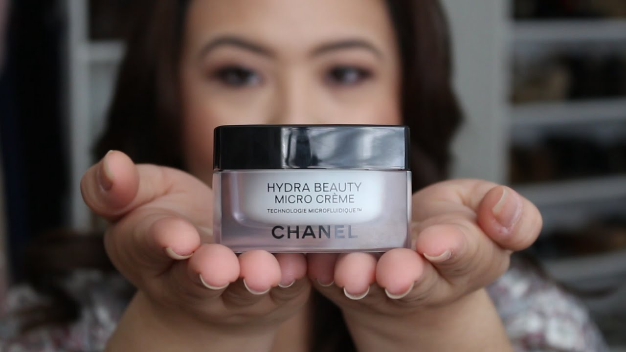 Chanel Hydra Beauty Micro Creme How To Use And Review Dredredoesmakeup Youtube