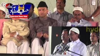 Kcr Full Speech in Jamia Nizamia/hyderabad news urdu