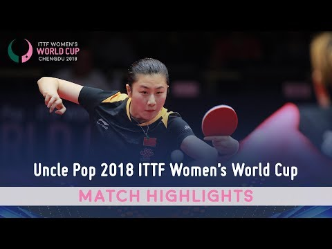 Ding Ning vs Zhu Yuling I 2018 ITTF Women's World Cup Highlights (Final)