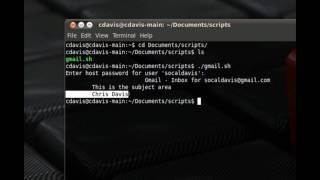 Gmail in Terminal - Check Inbox - Ubuntu 10.04 Tips & Tricks