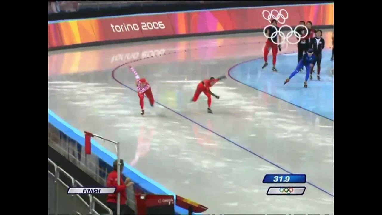 Zhurova - Speed Skating - Women's 500M - Turin 2006 Winter Olympic Games