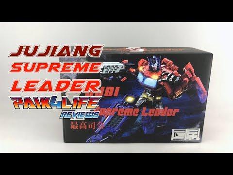 Transformers Review: JuJiang JJ-01 Supreme Leader // P4L Reviews