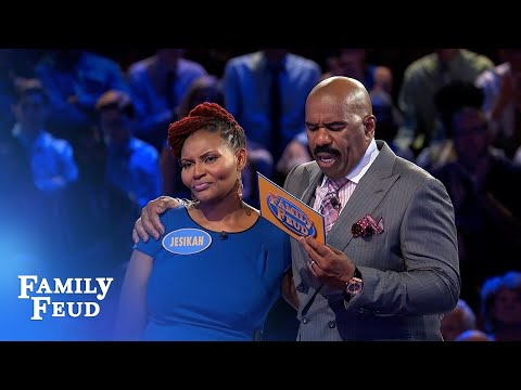 Wanna win $20,000? All you need is LOVE | Family Feud