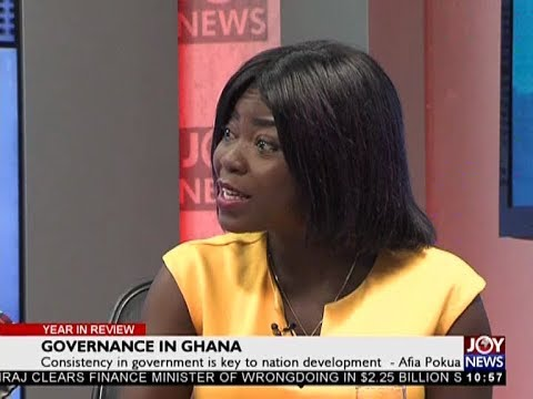 Ghana's Economy - Year in Review on JoyNews (30-12-17)
