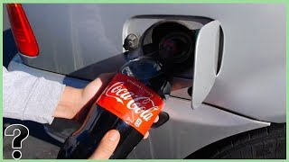 What If You Filled Your Car Up With Coca Cola?