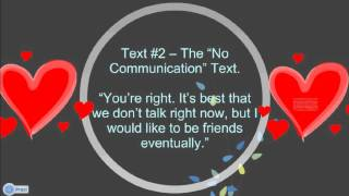 3 Texts To Send Your Ex Boyfriend To Make Him Come Running Back