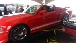 FAIL Shelby GT500 destroy dyno...au QUÉBEC! Original Video!