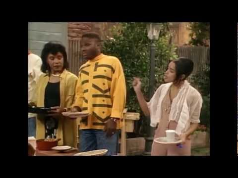 Cosby Show - Denise laughing hahahaha