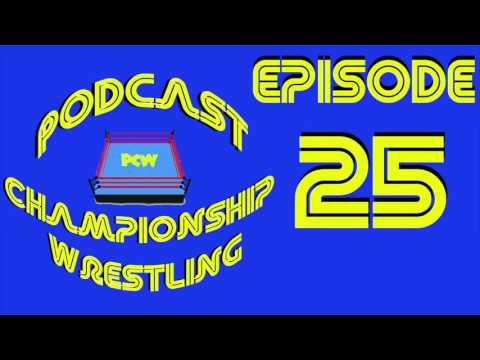 Podcast Championship Wrestling Ep. 25 - Smackdown and Raw Recap, 2016 Royal Rumble Rumblings