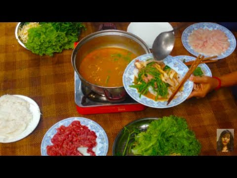 Family Dessert And Foods At Home - Cambodian Family Food - Asian Food