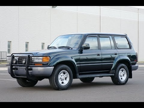 1996 toyota land cruiser youtube. Black Bedroom Furniture Sets. Home Design Ideas