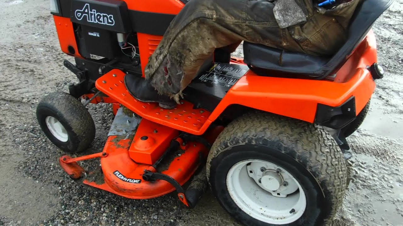 Home Design Ideas  ariens c series garden tractor  john deere riding