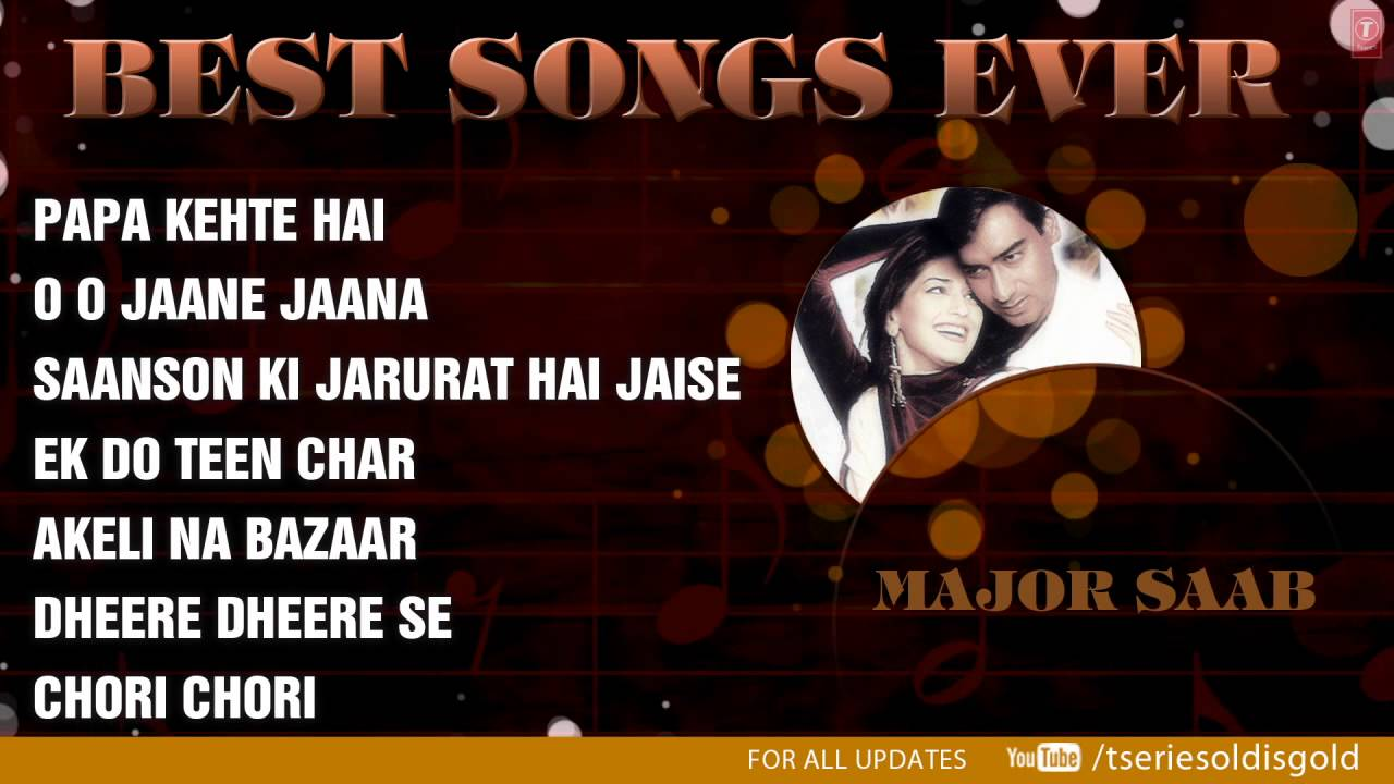 Best Hindi Songs Ever Part 1 Non Stop Bollywood Hits Jukebox Youtube Currently we have a large database of more than 1,000 hindi songs and in the coming days we will be updating this page with all the lyrics. best hindi songs ever part 1 non stop bollywood hits jukebox