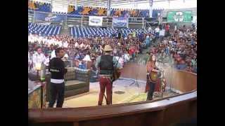 Jesse y Joy Palenque 01 - Aqui voy - Espacio Sideral - Gotitas de Amor (En vivo Cd. Victoria)