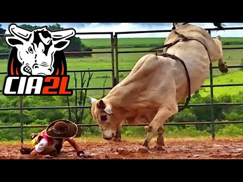 Treino de Junho 2017 ║ Cia de Rodeio 2 L Bulls  🐂